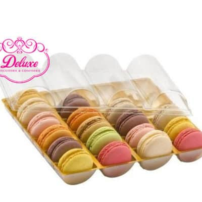 Assortiment de 24 pièces macarons