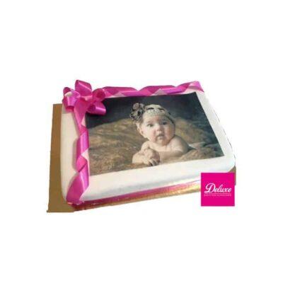 Gâteau d'anniversaire avec Photos