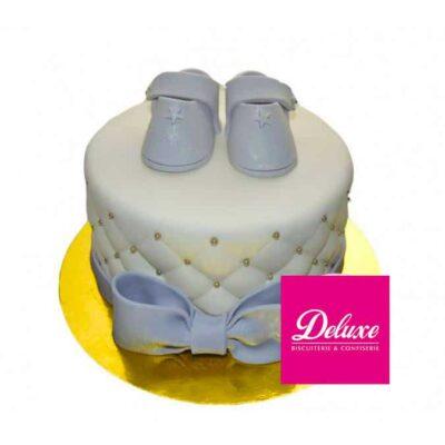 Gâteau d'anniversaire Baby – existe en bleu ou rose