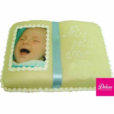 Gâteau d'anniversaire Livret avec Photo