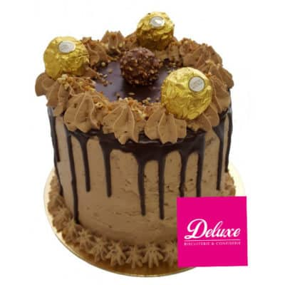 layer-cake  Rocher Noisette