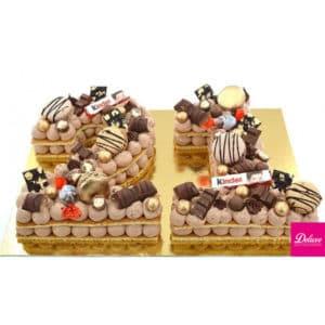 chocolat/praliné noisette