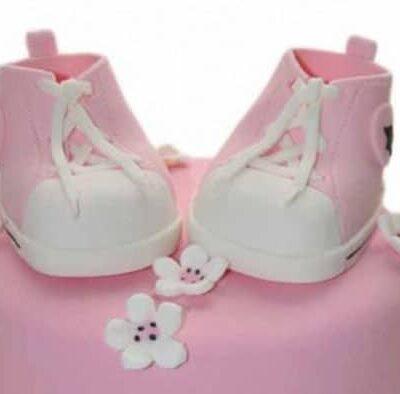 Pièce montée d'anniversaire baby modèle fille