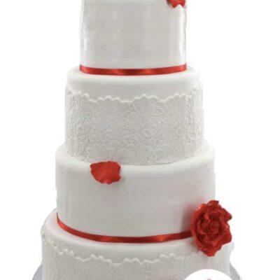 dentelle Wedding cake – Pièce montée