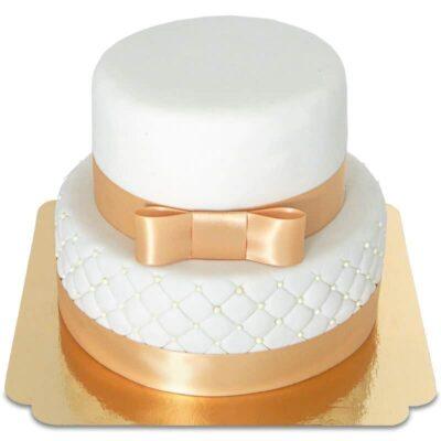 White Wedding cake – Pièce montée