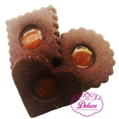 250 gr Sablés chocolat  à la caramel
