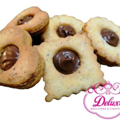 250 gr de Biscuit à la  Pâte à tartiner au chocolat et noisettes