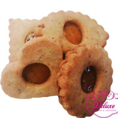 250 gr de biscuit à la confiture d'abricot