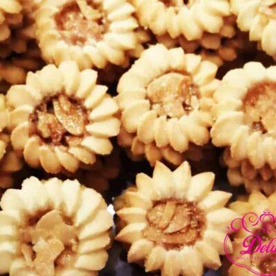 250 gr  Biscuits Soleil aux amandes croquant