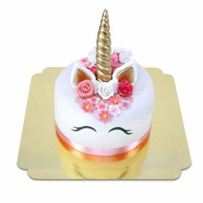 Gâteau » Licorne» Deluxe – Rose ou bleu
