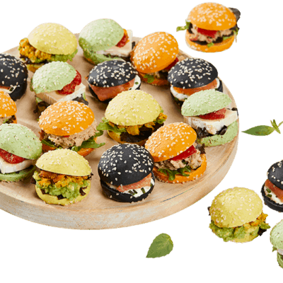 Assortiment de 30 Mini Burger,Deluxe