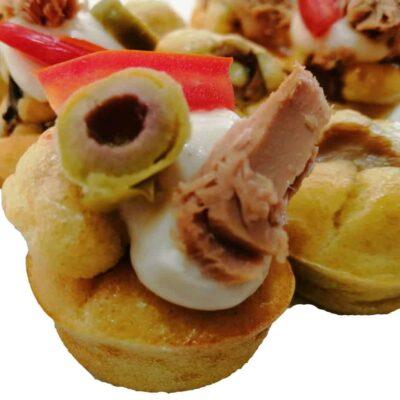 Assortiment de 30 Muffin salé façon pizza