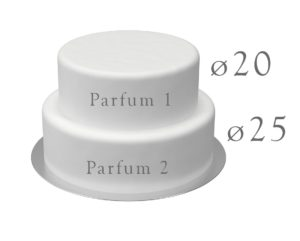 50 parts 20cm/25cm