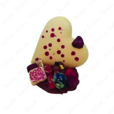 Coeur d'amour chocolat