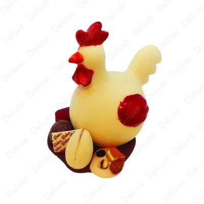 Ma petite poule en chocolat