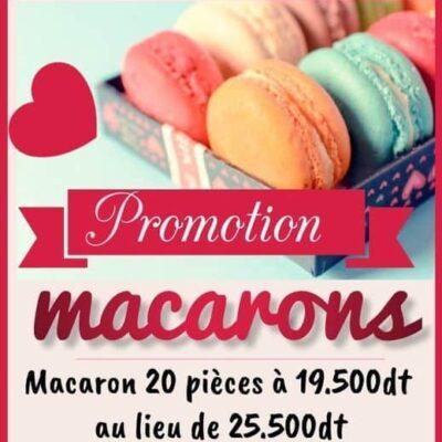 Promotion Macarons 20 pièces