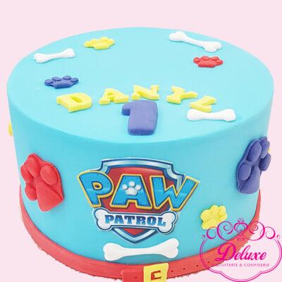 Cake design thème paw patrol