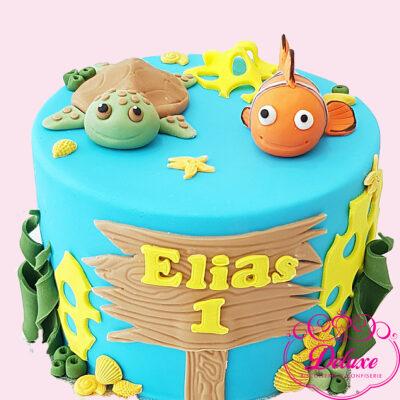 Cake Design Thème Le Monde de Nemo