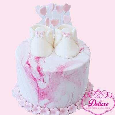 Gâteau D'anniversaire Baby-Shoes