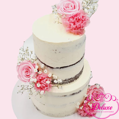 pièce montée Naked cake – wedding