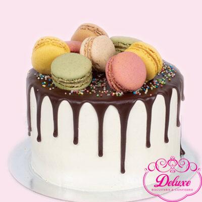 layer-cake chocolat Macarons