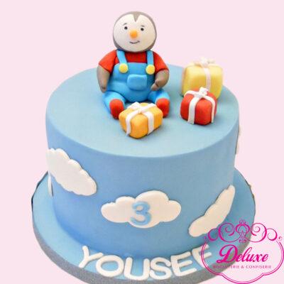 Cake design thème T'choupi