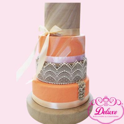 pièce montée wedding cake champêtre