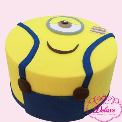 Gâteau d'anniversaire thème Minions