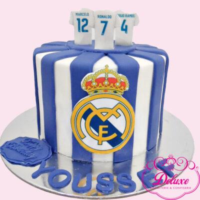 Cake design thème Real Madrid